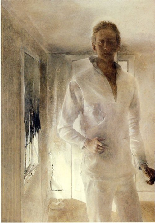 Andrew Wyeth - self-portrait, 1949