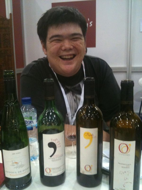 Ryan O'Connell from O' Vineyards @mroconnell at #LIWF