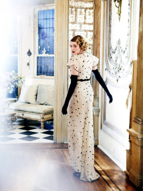 "Rachel Hurd-Wood in Erez Sabag's ""Débutante"", for InStyle UK March 2011."