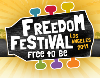 TOTES EXCITED to announce I am performing at Freedom Festival 2011 in LA in July! Sharing the stage with Semi Precious Weapons (last time i saw them I was dancing on a table at a certain pop stars birthday party), Dave Aude, Tony Moran & Kerli!   It's the largest summer music and arts festival in California and I can't wait! Get your tickets and I will see you there.