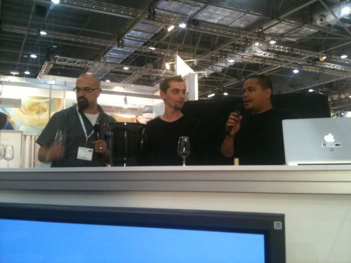 Listening to 2 sommeliers from 15 restaurant at #accesszone #LIWF
