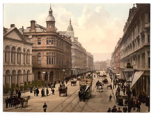 lalalaurenjoy:  Royal Avenue, Belfast. Between 1890 and 1900