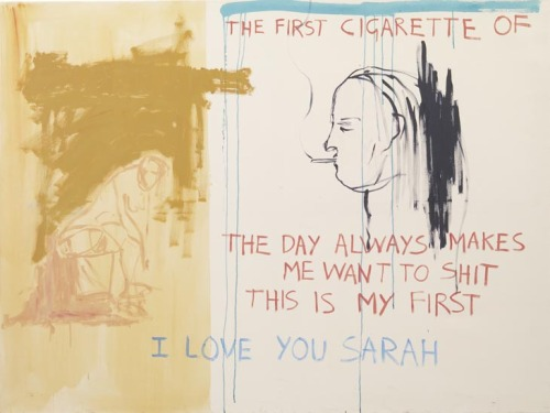 Tracey Emin, Exorcism of the Last Painting I Ever Made  (detail)     (fywa)