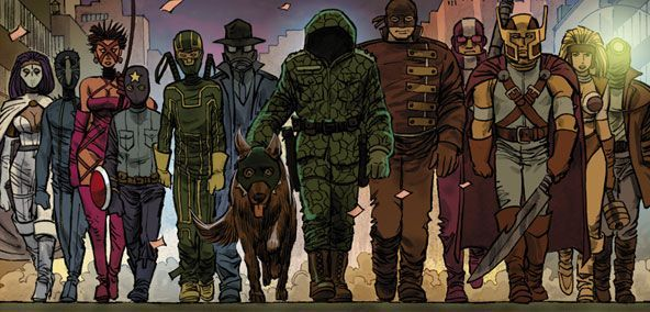 Kick-Ass 2 Chapter 8 Preview by John Romita Jr.