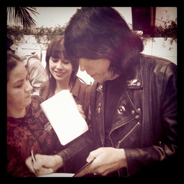 Marky Ramone (Taken with Instagram at La puerta grande)