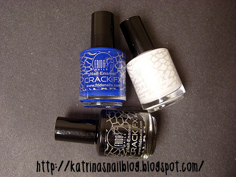 only $3.00 a bottle!~ click to read my review about these Crackle FX polishes.