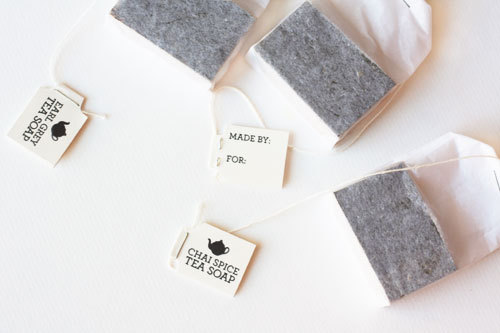 Tea Soap{How To} These are so cute! Think of all the possibilities! Party favors…TEA PARTY favors! :p Found at: http://www.cucumbersome.com