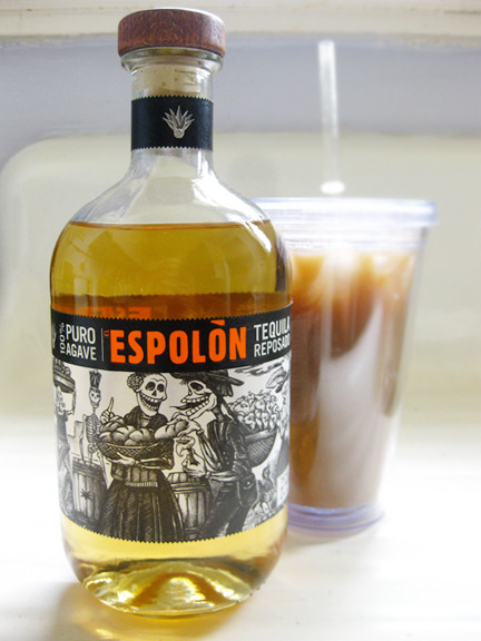 lushlady:  … a little tequila in my iced coffee? Don't mind if I do. Photo credit: Lush Lady  i love this based on label alone.