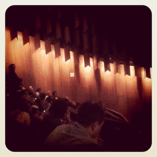 Bits of #cannes you dont see: inside the Gary Busey Theatre (Taken with instagram)