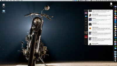 "Check out my new desktop! Amazing moto wallpaper (you can find em at BikeEXIF ) from one of my favorite photographers, Scott Pommier (www.scottpommier.com). He continually releases more entrancing and timeless images of motorcycles and their riders than those before. Get some!  I first saw Scott's work on The Selvedge Yard and remember thinking, ""holy crap, when were these taken?"" His images and subjects were so timeless and classic, I was surprised to find they were all fairly recent. (P.S. Scott is originally from Vancouver, WA… a whopping 10 minutes from me! Turns out there's a lot of talent from this neck of the woods.)"