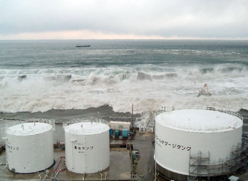 The scene of the tsunami at Fukushima Daiichi TEPCO has released several photos of the catastrophic tsunami of March 11th, as it struck the Fukushima Daiichi Nuclear Plant. They are perhaps somewhat instructive, as they highlight the intense level of natural abuse the plant took that led to this ongoing crisis. source Follow ShortFormBlog