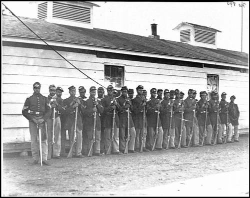 United States Colored Troops 4th Regiment Infantry The 4th United States Colored Infantry Regiment was an African American unit of the Union Army during the American Civil War. Wiki Page For a complete list of Colored Troops visit here.