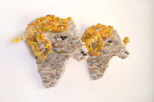 Design You Trust - Shawn Smith — 8-Bit Sculpture