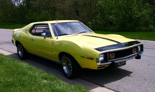 4-wheel:  1973 AMC Javelin SST.