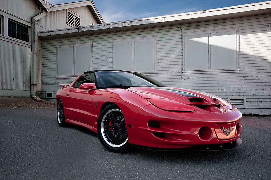 Cardinal Official by James Larieau Pontiac Firebird Trans Am WS6 Location: California