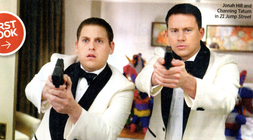First Look: Jonah Hill and Channing Tatum in 21 Jump Street from Entertainment Weekly | /Film