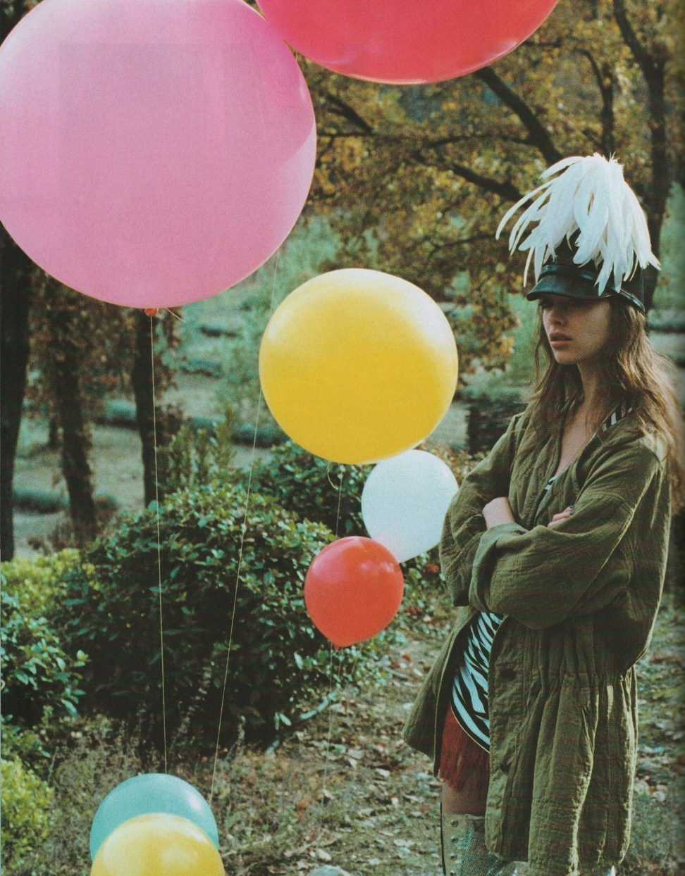 moldavia:  Elise Van't Zand in Jalouse February 2008 by Skye Parrot