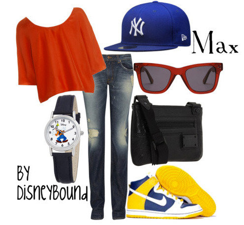 swag disneybound:  Am I the only one who thought Max was hot? lol