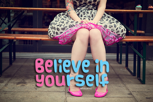 ahoushi:  BE YOU :'>