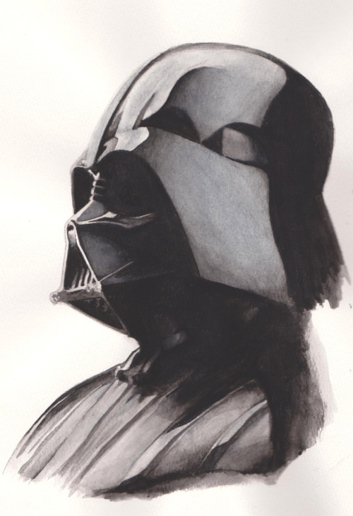 Darth Vader - by Thong Le (Via: pacalin)