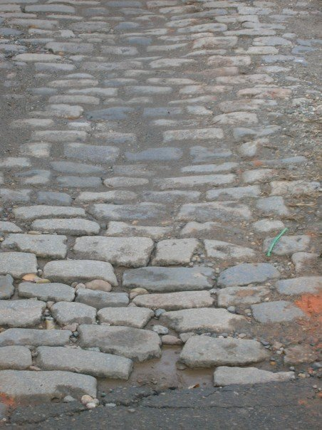 cobblestone of rva, i'm working toward you….don't pave just yet.