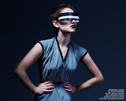 Part future, part fashion, part Geordi La Forge. Is this what the world will be wearing in the future?