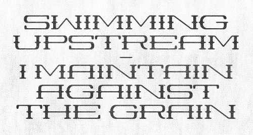 coffeemademedoit: Working on a new font, inspired by the good ol' dusty western. Take a look at the full alphabet here.