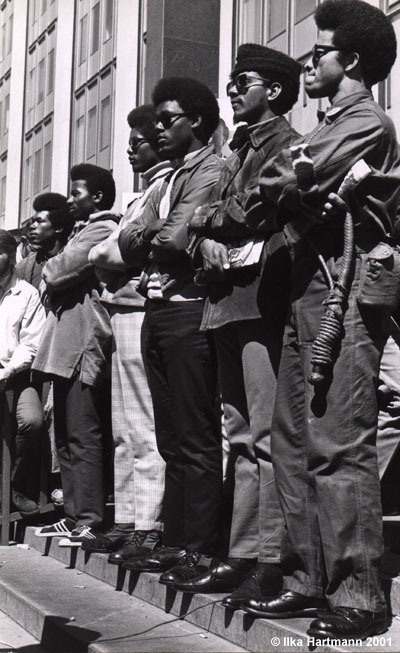 black-culture:  Black Panther Party rally, Federal Building, Mayday, San Francisco, 1969