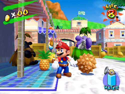 tashbrotatoes:  Super Mario Sunshine!