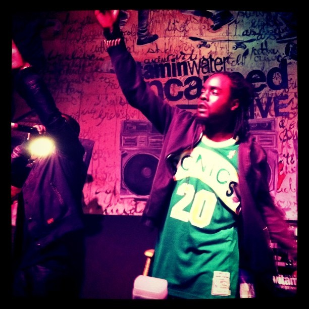 andycohn:  . @wale ripped it up in DC last night @vitaminwater #uncappedLive, thanks to @baskinrobyn and @kidpotential for holding it all down  (Taken with Instagram at Washington, DC)    Miss U Sonics…