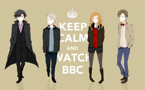 doctorwho:  Keep Calm and Watch BBC* (*America)