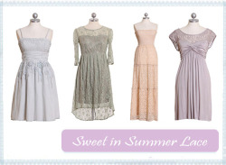 Stay chic and cool in summer lace!