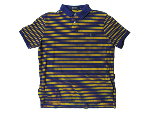 POLO RALPH LAUREN YELLOW & PURPLE SS POLO