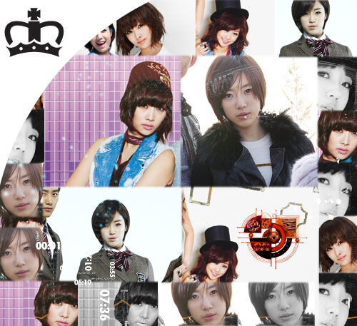 30 Days bias challenge:  Day 08: An edit of your bias in (1) KARA (2) T-ara
