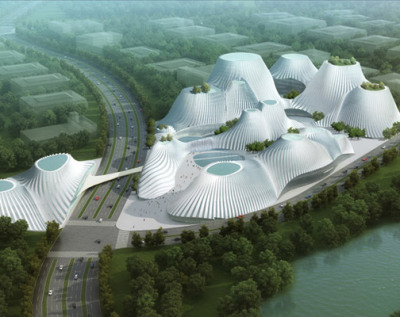 (via Taichung Convention Center By MAD Architects - Gradient Magazine)