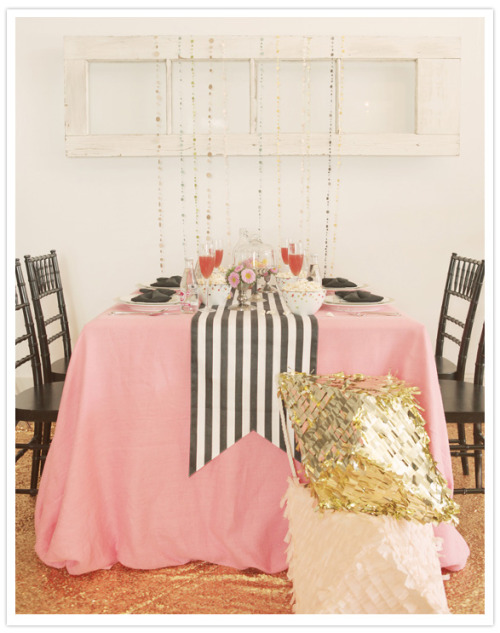 theglitterguide:  (via Kate Spade inspired shoot   a Q&A with talented event designers | Details   Decor, Vendor Spotlight | 100 Layer Cake)