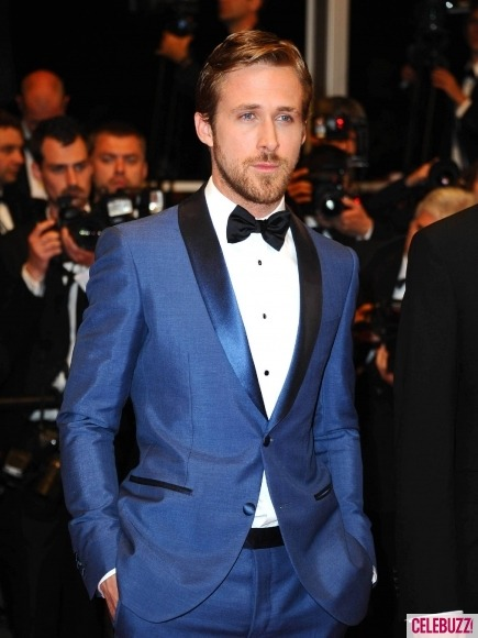 Ryan Gosling is killing us right now. THAT FACE.