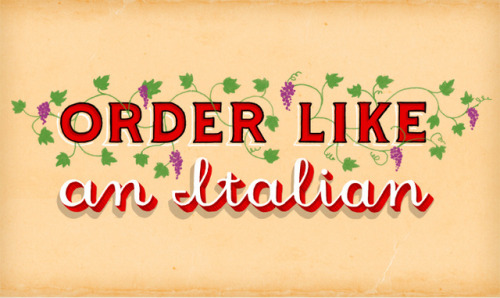 Order Like an Italian by Jim Tierney