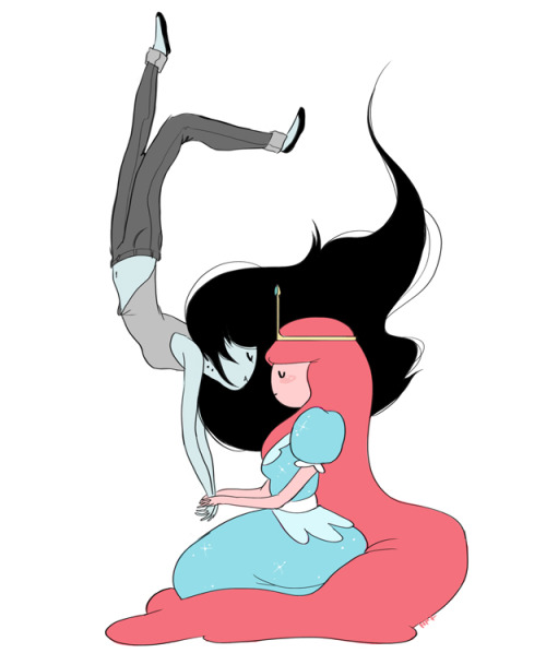 'tis the season for reblogging bubblegum/marceline fanart
