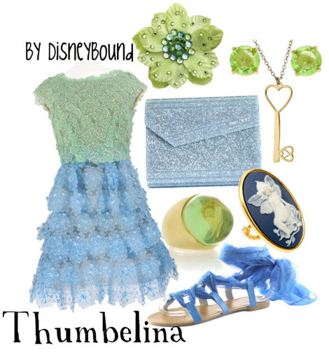 disneybound:  Thumbelina Rule Breaker #3 of 10