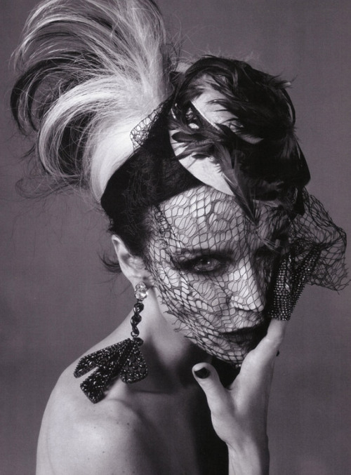 Daphne Guinness for Vogue Italia