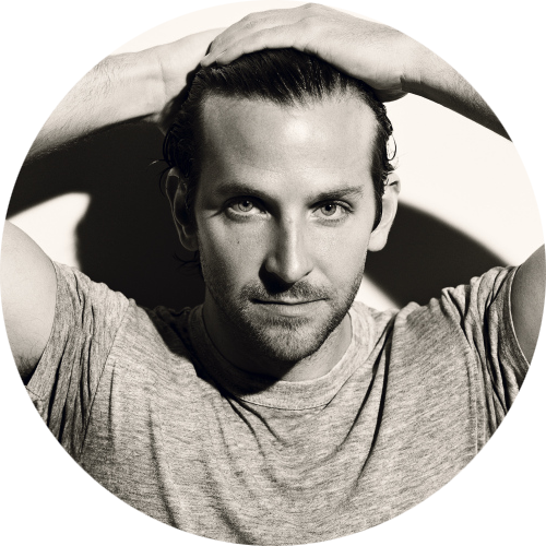 Bradley Cooper by Norman Jean Roy