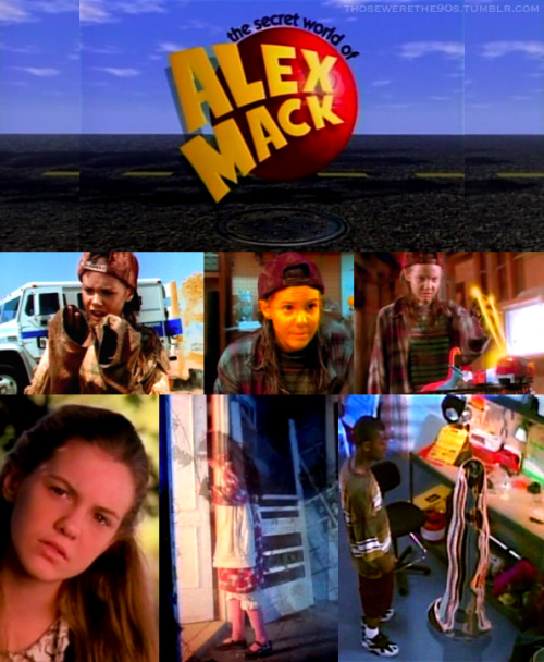 Favorite Television of the '90s  The Secret World of Alex Mack | 1994-1998