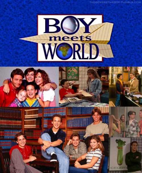 Favorite Television of the '90s  Boy Meets World | 1993-2000