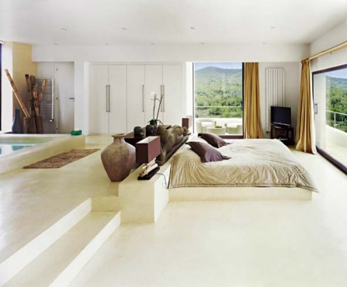 bedrooms: ibiza residence by jaime serradisplayed on archiphile | facebook | twitter