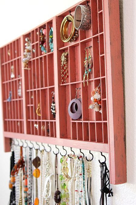 DIY jewelry organizers tutorial by {Create Celebrate Explore} Love this and will add this to my to make list