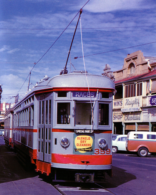 shadel:  Glenelg, South Australia 1959'H' Type Tram 359 at Moseley SquarePhoto by baytram366/flickr