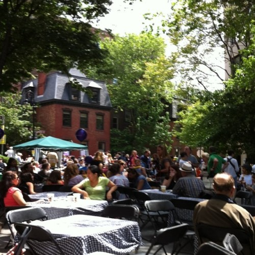 Ye Olde Street Fair (Taken with Instagram at West Village NYC)