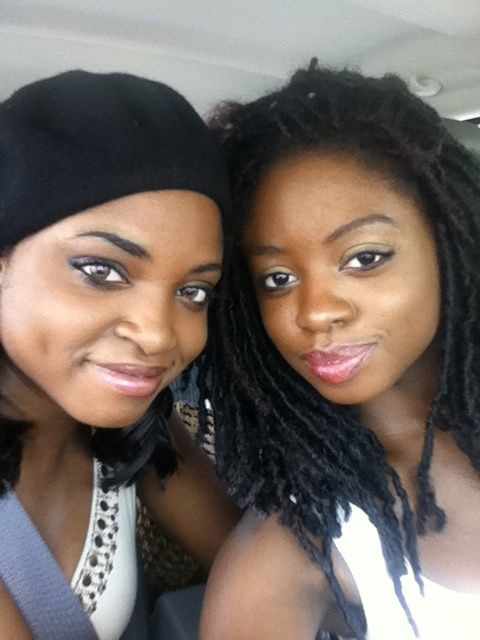 travelingbarefeet:Happy Sabbath from my sister and I.loc envy!!