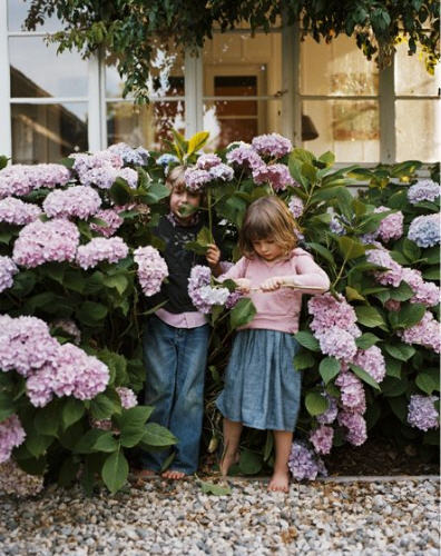 "habituallychic:  ""Children have neither past nor future; they enjoy the present, which very few of us do."" - Jean de la Bruyere"